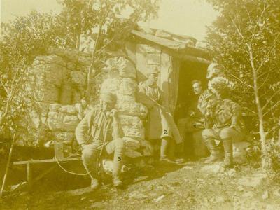 Zupančičeva baraka v Italiji