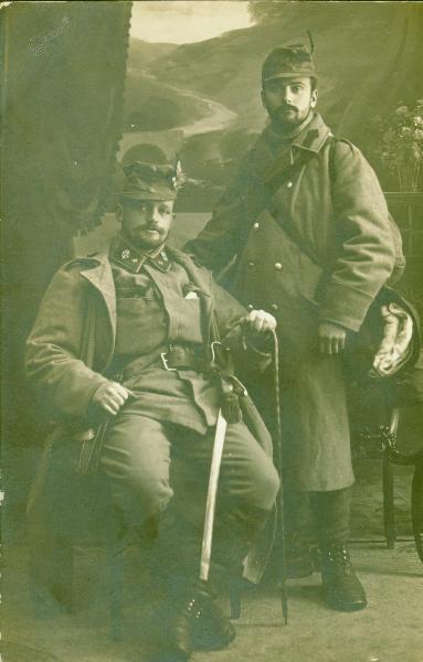 Zupančič in oficirski sluga