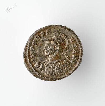 Novec s podobo rimskega cesarja Probusa