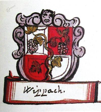 Grb trga Vipava v srednjem veku