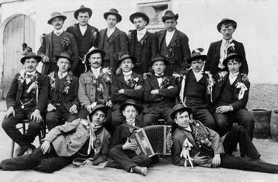 Na štelengi (ok. 1915)