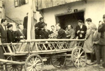 Pogreb Kristine Noč, Skednačeve (1955)