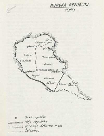 Murska republika 1919