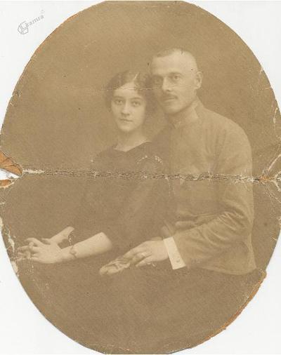 Vilmoš Tkalec z ženo