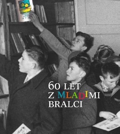 60 let z mladimi bralci - naslovnica jubilejne publikacije