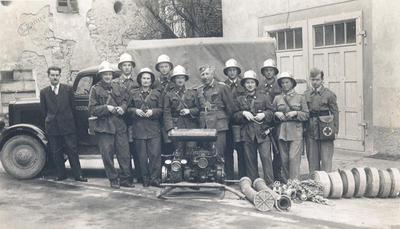 Laški gasilci leta 1953