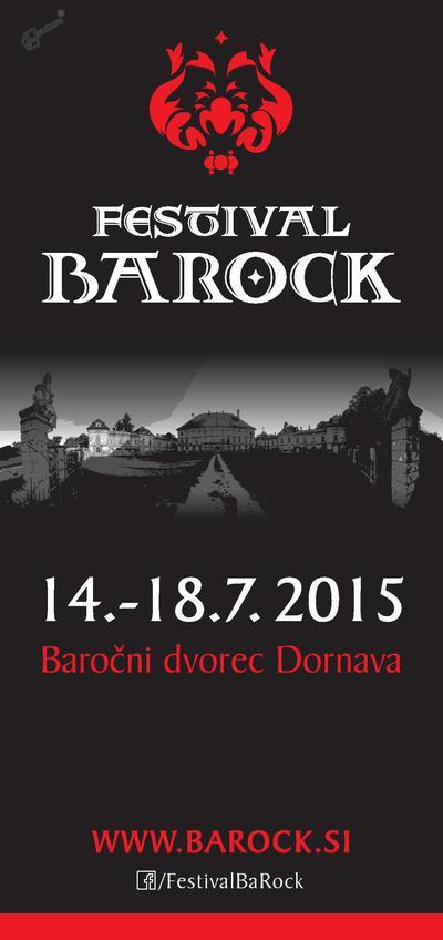 Festival BaRock - vabilo