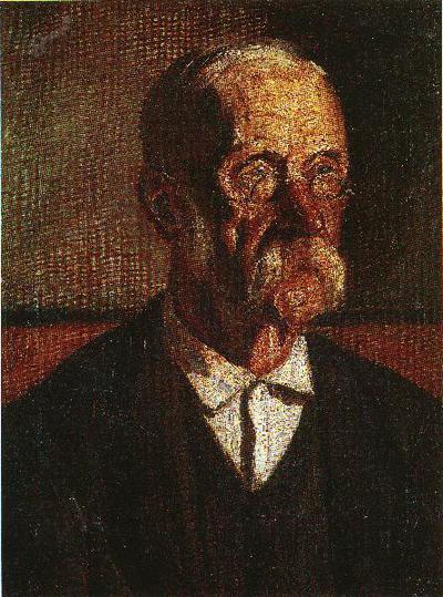 Portret slikarjevega očeta