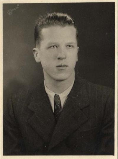 Ivo Arhar - študent, 1936