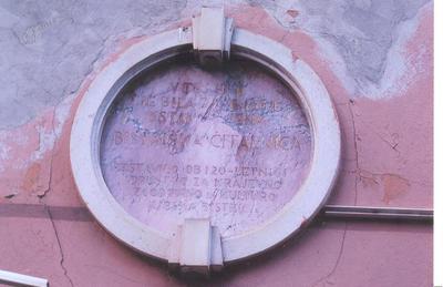 Spominska plošča - Bistriška čitalnica