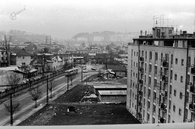 Savsko naselje na začetku zime 1971: četrtič