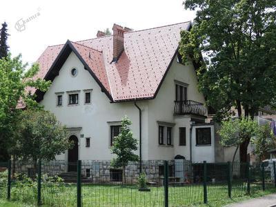Stanovanjska vila med bloki in stolpnicami v Savskem naselju