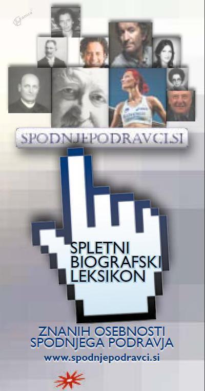 Spletni biografski leksikon Spodnjepodravci.si