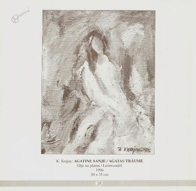 Agatine sanje, olje na platnu - 1996, 30 x 35 cm