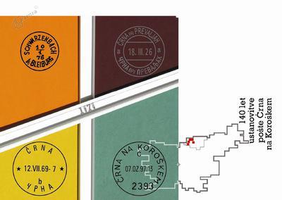 140 let ustanovitve pošte Črna na Koroškem