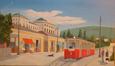 Portorose piazza