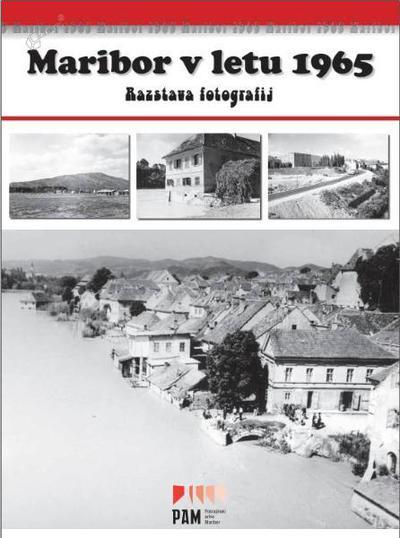 Naslovnica publikacije Maribor v letu 1965
