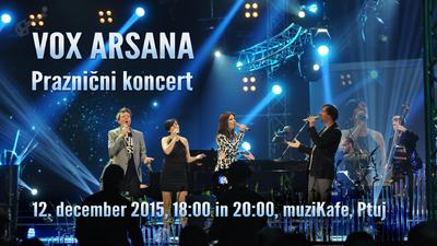 Koncert Vox Arsana - vabilo