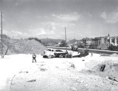 Gradnja nove Pobreške ceste z dovozom na Titov most