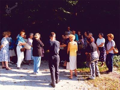 Spoznavavanje rastlin v celjskem parku z dr. Ljerko Godicl
