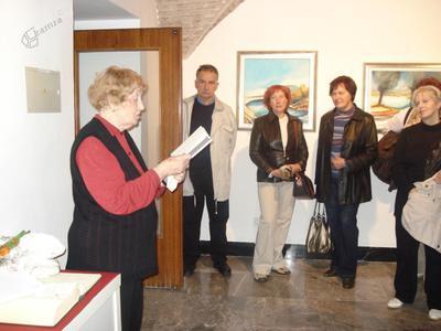 U3O Celje - srečanje z umetnico Darinko Pavletič Lorenčak