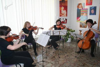 U3O Celje - godalni kvartet Glasbene šole Celje