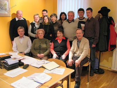 Etno odbor Jureta Krašovca za mandatno obdobje 2008-2013