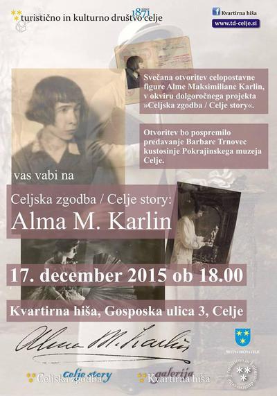 Celjska zgodba / Celje Story - Alma M. Karlin