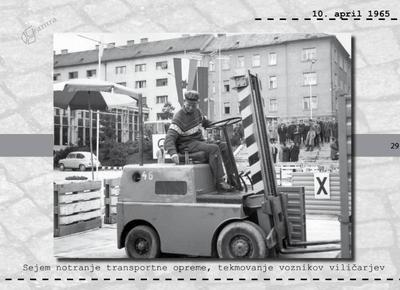 Maribor - sejem notranje transportne opreme