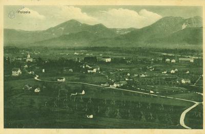 Panorama Polzele z Vimperka