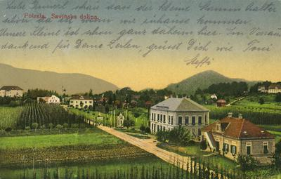 Pogled s polzelske cerkve