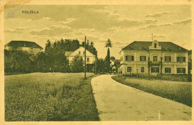 Polzela s Komendo, gostilno Cimperman in Tirškovo trgovino