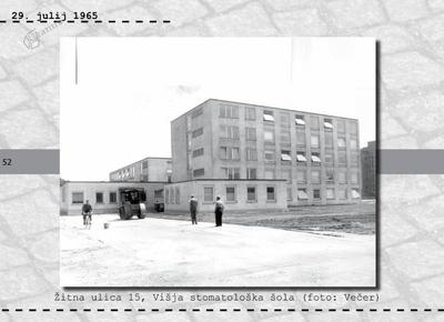 Maribor - Žitna ulica 15, Višja stomatološka šola
