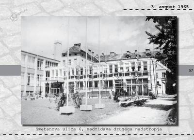 Maribor - Smetanova ulica 6, nadzidava drugega nadstropja