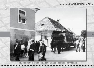 Maribor - deložiranje stanovalcev Lenta zaradi povodnji