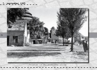 Maribor - Pristan in Pristaniška ulica
