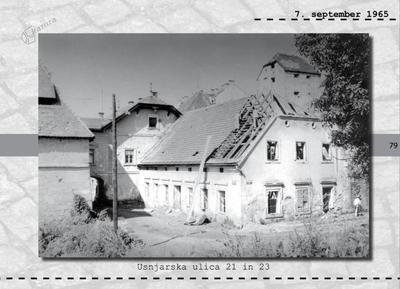 Maribor - Usnjarska ulica 21 in 23