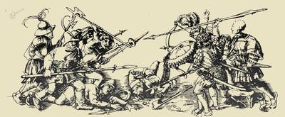 Boj med kmeti in plemiči