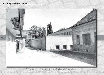 Maribor - Pipuševa ulica 17, šolske delavnice