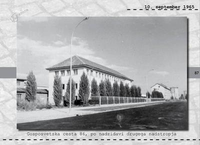 Maribor - Gosposvetska cesta 86, po nadzidavi drugega nadstropja