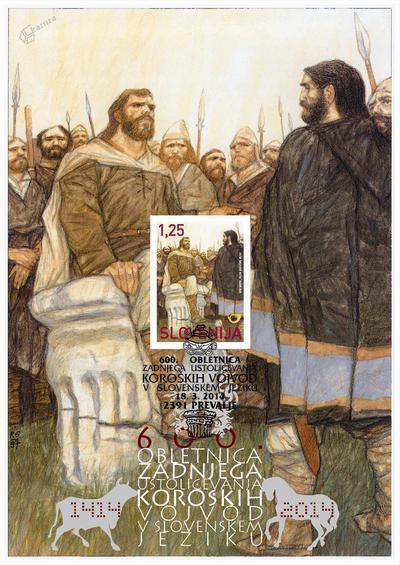 600. obletnica zadnjega ustoličevanja koroških vojvod v slovensk