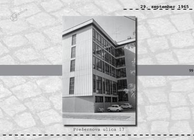 Maribor - Prešernova ulica 17