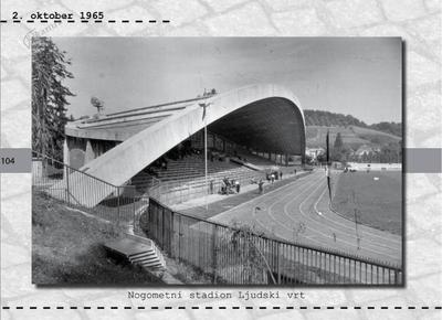 Maribor - nogometni stadion Ljudski vrt