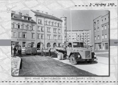 Maribor - novi vhod v bolnišnico ob Ljubljanski ulici