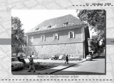 Maribor - bastija mariborskega gradu