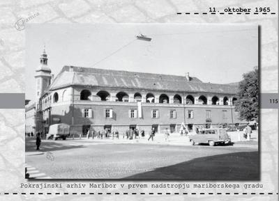 Maribor - Pokrajinski arhiv Maribor v gradu