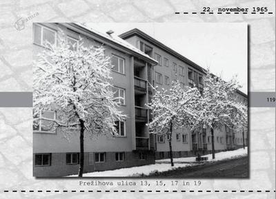 Maribor - Prežihova ulica 13, 15, 17 in 19