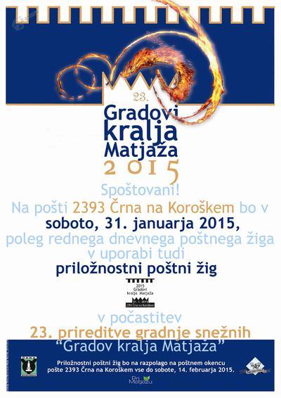 23. Gradovi kralja Matjaža 2015