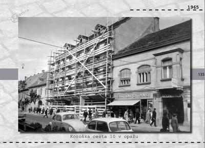 Maribor - Koroška cesta 10 v opažu