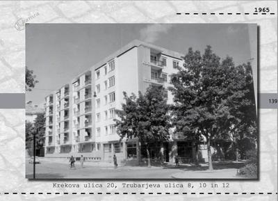 Maribor - Krekova ulica 20, Trubarjeva ulica 8, 10 in 12